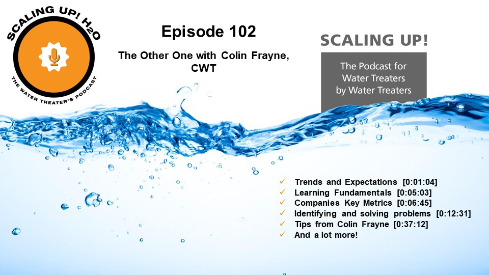 Scaling UP! H2O - The Podcast for Water Treaters by Water