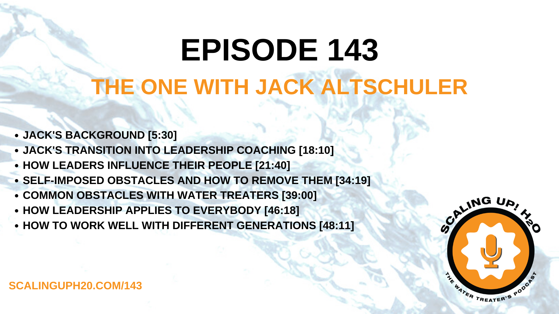 water treateer jack altschuler on motivational leadership and employee retention