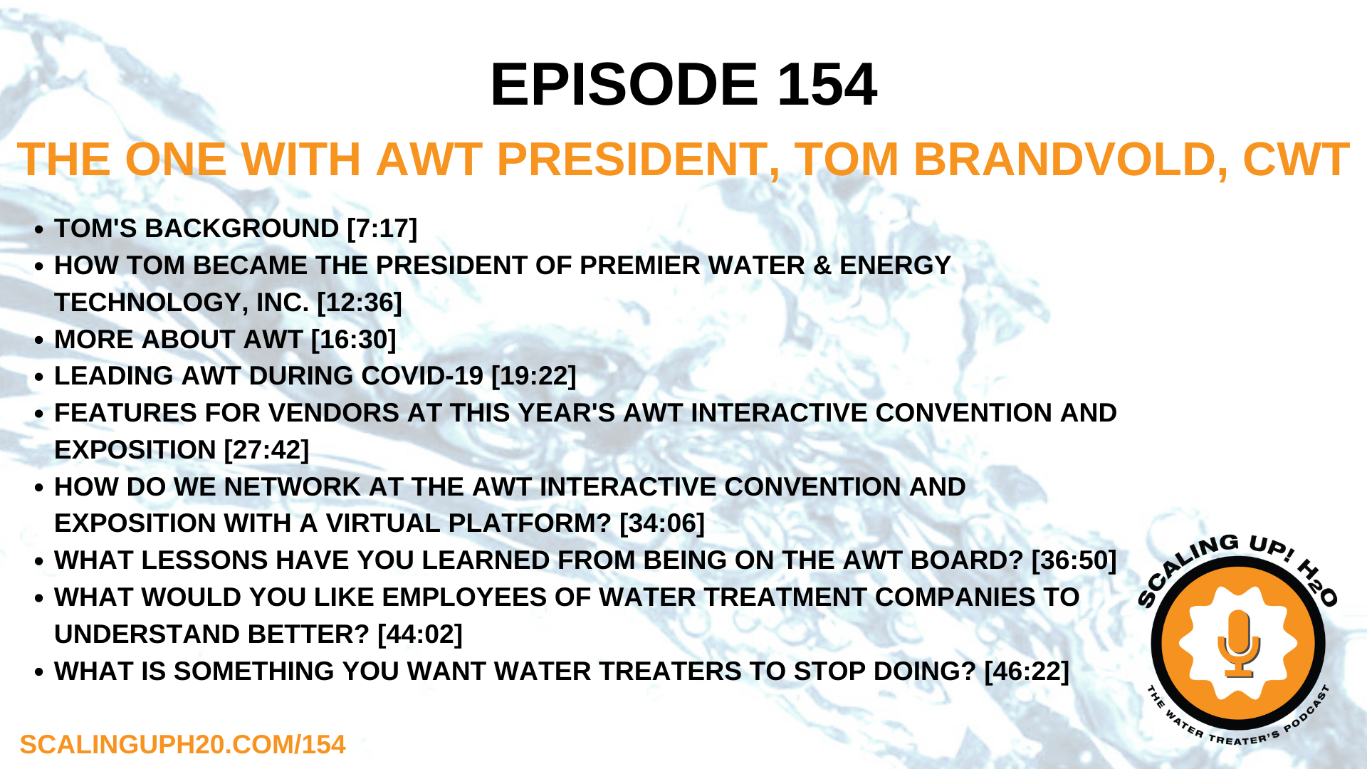 AWT, Association of Water Technologies